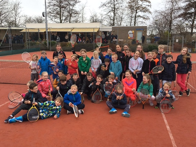 Tennisclinic 20 maart 2016