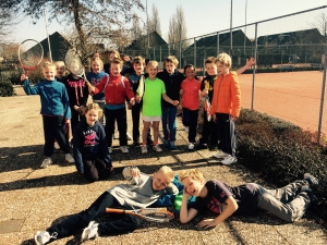 1e ronde Tennis Kids World Tour
